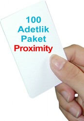 Perguard - 100 adet 1.Sınıf Proximity Kart (Seri numara baskılı )