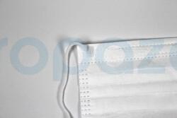 3 Katlı Full Ultrasonik Meltbown Burun Telli Cerrahi Maske - Thumbnail