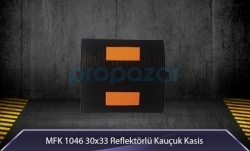 MFK - 30x33 Reflektörlü Kauçuk Kasis MFK5330