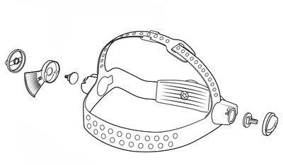 3M 165005 10V Baş Bandı