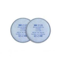 3M - 3M 2128 P2 Organik - Ozon Asit Gazı Filtresi 40li (Çift) Paket
