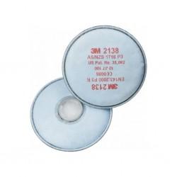 3M - 3M 2138 P3 Organik - Ozon Gaz Buhar Filtresi 20li Paket