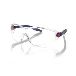3M 2740 Güvenlik Gözlüğü Şeffaf AS/AF - Ayarlanabilir Sap - Thumbnail