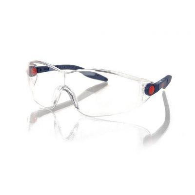3M 2740 Güvenlik Gözlüğü Şeffaf AS/AF - Ayarlanabilir Sap