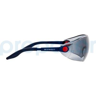3M 2741 Güvenlik Gözlüğü Gri AS/AF - Ayarlanabilir Sap