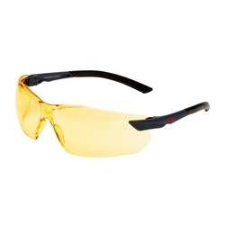 3M 2822 Güvenlik Gözlüğü Sarı AS/AF - Thumbnail