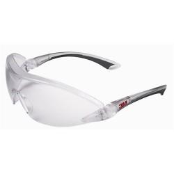 3M - 3M 2840 Güvenlik Gözlüğü Şeffaf - Ayarlanabilir Sap ve Kaş Koruma