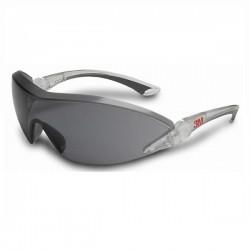 3M 2841 Güvenlik Gözlüğü Gri - Ayarlanabilir Sap ve Kaş Korumalı - Thumbnail