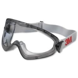 3M - 3M 2890 Güvenlik Gözlüğü Ventilli Polikarbonat AS/AF/KN