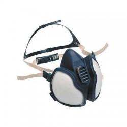 3M - 3M 4277 Org.-İnorg.- Asit Gaz/Buhar Maske (FFABE1P3D) - 10lu Koli