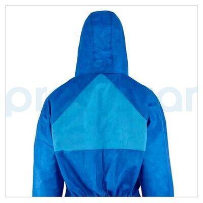 3M 4532 Beyaz Sırt Üçgenli AR Mavi Tulum
