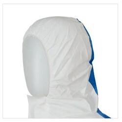 3M 4535 Arkası Komple Mavi Panelli Beyaz Tulum - Thumbnail