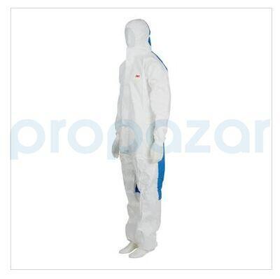 3M 4535 Arkası Komple Mavi Panelli Beyaz Tulum
