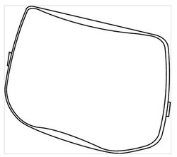 3M 527070 Speedglas Dış Koruma Plakası - Thumbnail