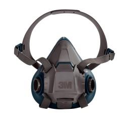 3M 6502 6500 Serisi Yüz Maskesi Orta Boy - Thumbnail