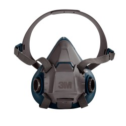 3M - 3M 6502 - 6500 Serisi Yarım Yüz Maskesi (Orta Boy) - 10lu Paket