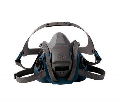 3M 6502 Hızlı Açılabilinir Yarım Yüz Maskesi Orta Boy