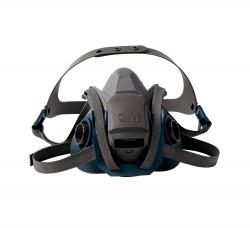 3M - 3M 6502-QL Hızlı Açılabilir 6500 Serisi Yarım Yüz Maskesi (Orta Boy) 10 lu koli