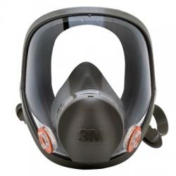 3M - 3M 6900 Tam Yüz Maskesi(Büyük Boy) - 4lü Koli