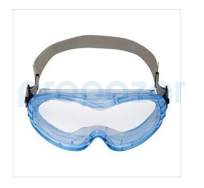 3M 71360-00005 Fahrenheit Ventilsiz Asetat İş Güvenliği Gözlüğü