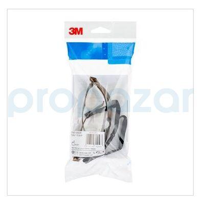 3M 7150102C Tora Bronz Hardium AS/AF İş Güvenliği Gözlüğü