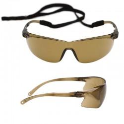 3M 7150102C Tora Bronz Hardium AS/AF İş Güvenliği Gözlüğü - Thumbnail