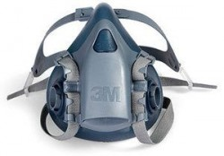3M - 3M 7503 Yarım Yüz Maskesi (Büyük Boy) - 10lu Koli