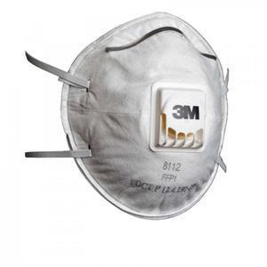 3M 8112 FFP1 Ventilli Toz ve Sis Maskesi
