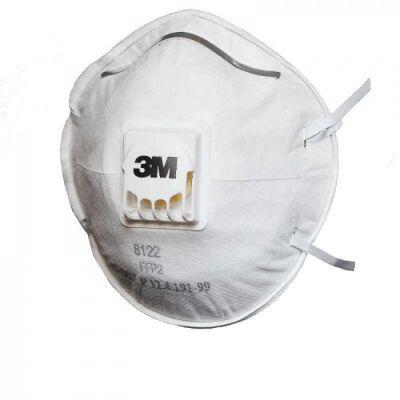 3M 8122 FFP2 Ventilli Toz ve Sis Maskesi
