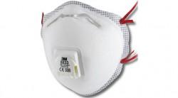 3M - 3M 8833 FFP3 Ventilli Toz ve Sis Maskesi - 80li KOLİ