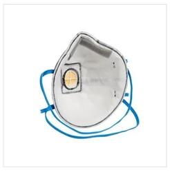 3M 9922 FFP2 Ventilli Düşük Kons. Organik Gaz Toz ve Sis Maskesi - Thumbnail