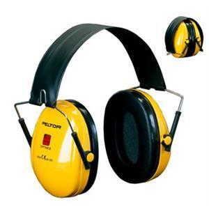 3M H510F-404-GU Optime 1 Katlanabilir Başbantlı Kulaklık