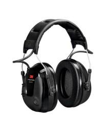 3M - 3M PELTOR ProTac III Kulaklık, 26 dB, İnce Tasarım, Siyah, Kafa Bandı, MT13H220A