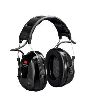 3M PELTOR ProTac III Kulaklık, 26 dB, İnce Tasarım, Siyah, Kafa Bandı, MT13H220A