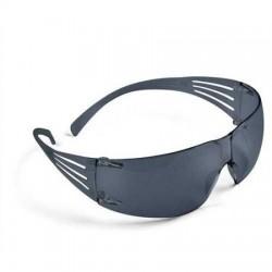 3M SF202 Secure Fit Gri AS/AF İş Güvenliği Gözlüğü - Thumbnail