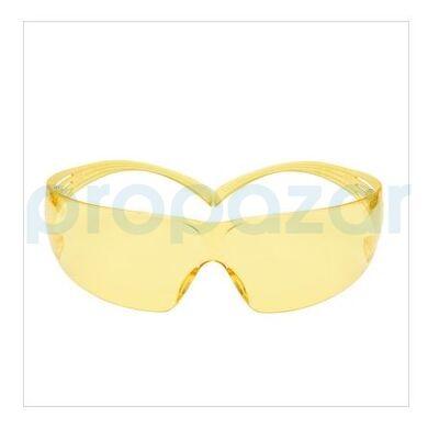 3M SF203 Secure Fit Sarı AS/AF İş Güvenliği Gözlüğü