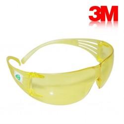 3M SF203 Secure Fit Sarı AS/AF İş Güvenliği Gözlüğü - Thumbnail