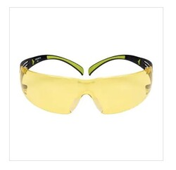 3M SF403 SecureFit 400 Sarı AS/AF Koruma Gözlüğü - Thumbnail
