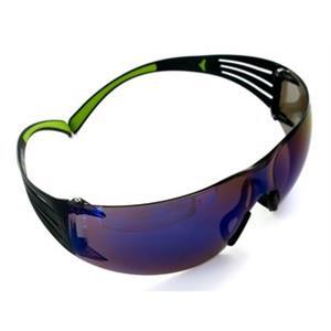 3M SF408 SecureFit 400 Mavi Aynalı AS/AF İş Gözlüğü