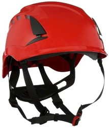 3M - 3M X5001VE-CE SecureFit Yüksekte Çalışma Bareti Ventilli Kırmızı 1000V