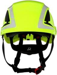 3M - 3M X5014V-CE SecureFit Yüksekte Çalışma Bareti HV Yeşil Ventilli Reflektifli