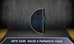 MFK - 40x30 4 Reflektörlü Kasis Kapağı MFK5546