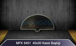 MFK - 40x30 Kasis Başlığı MFK5451