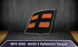 MFK - 50x50 Reflektörlü Kauçuk Kasis MFK5550