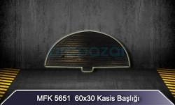 MFK - 60x30 Kasis Başlığı MFK5651