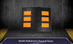 60x50 Reflektörlü Kauçuk Kasis MFK1053 - 5650 - Thumbnail