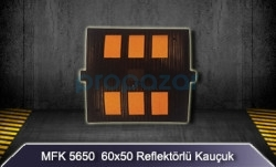 MFK - 60x50 Reflektörlü Kauçuk Kasis MFK5650