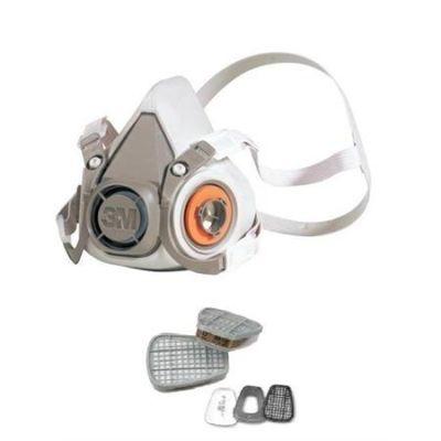 3M 6212M 6200 Maske ve A1P2 Filtre Seti - 4lü Paket