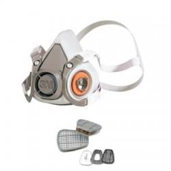 3M - 6212M 6200 Maske ve A1P2 Filtre Seti - 4lü Paket