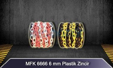 6mm Plastik Zincir MFK6666